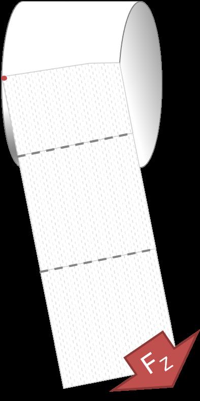 Modell bei schrägem Ziehen